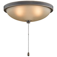Fanimation Low Profile Bowl Fan Light Kit in Bronze Accent LK114ABA