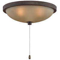 Fanimation Low Profile Bowl Fan Light Kit in Rust LK114ARS
