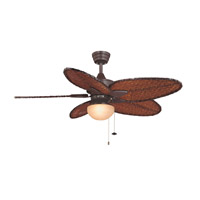 Signature 1 Light Halogen Rust Fan Light Kit