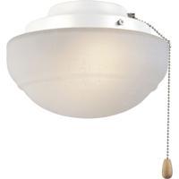 Fanimation LKLP111WWH Signature 1 Light Halogen White Fan Light Kit