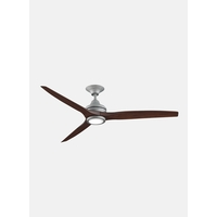 Spitfire Galvanized Ceiling Fan Motor in Galvanized Steel, Blades Sold Separately