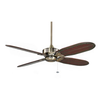 Windpointe 10 inch Antique Brass Ceiling Fan, Motor Only