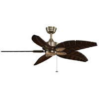 Fanimation MA7500AB Windpointe 10 inch Antique Brass Ceiling Fan in 110 Volts, Motor Only