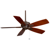 Windpointe 10 inch Rust Ceiling Fan in 220 Volts, Motor Only