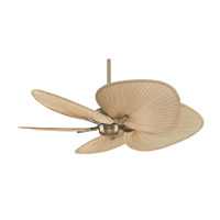 Fanimation MAD3250AB Islander DC 18 inch Antique Brass Ceiling Fan, Motor Only