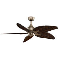 Islander 18 inch Antique Brass Ceiling Fan, Motor Only