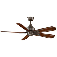 Islander 18 inch Oil-Rubbed Bronze Ceiling Fan, Motor Only