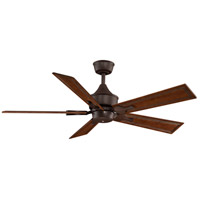 Islander 18 inch Rust Ceiling Fan, Motor Only