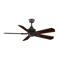 Fanimation MAD3255BA Louvre 18 inch Bronze Accent Ceiling Fan, Motor Only photo thumbnail