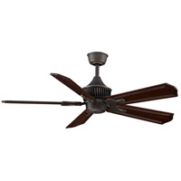 Louvre 18 inch Bronze Accent Ceiling Fan, Motor Only