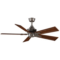 Louvre 18 inch Pewter Ceiling Fan, Motor Only