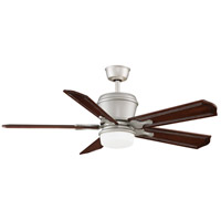 Sandella 18 inch Satin Nickel Ceiling Fan, Fan Motor and Down-Light Only