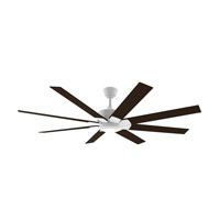Levon DC Matte White Ceiling Fan Motor, Blades Sold Separately, Motor Only
