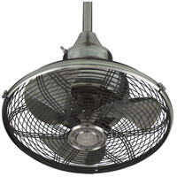 Fanimation Extraordinaire Indoor Ceiling Fan in Pewter with Pewter Blades OF110PW