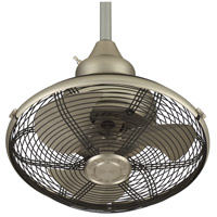 Fanimation OF110SN Extraordinaire 18 inch Satin Nickel Ceiling Fan in 110 Volts alternative photo thumbnail