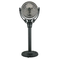 Fanimation Old Havana Pedestal Column Fan Accessory in Black FPH70BL alternative photo thumbnail