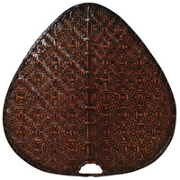 Punkah Antique 22 inch each Fan Blade in Antique Woven Bamboo