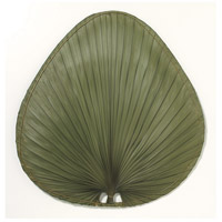 Fanimation Isle Palm Wide Oval 22in Blade Set in Green Natural Palm ISP1GR