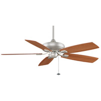 Fanimation Edgewood Indoor Ceiling Fan in Satin Nickel with Walnut/Light Walnut Blades TF610SN