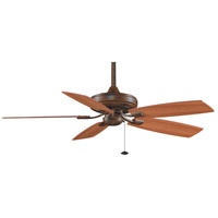 Fanimation Edgewood Indoor Ceiling Fan in Tortoise Shell with Walnut/Light Walnut Blades TF610TS
