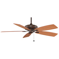 Fanimation Edgewood Indoor Ceiling Fan in Tortoise Shell with Walnut/Light Walnut Blades TF710TS