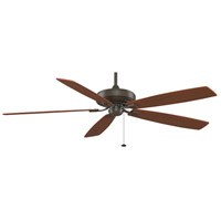 Fanimation TF721OB Edgewood 72 inch Oil-Rubbed Bronze with Cherry/Walnut Blades Ceiling Fan alternative photo thumbnail