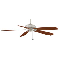 Fanimation Edgewood Indoor Ceiling Fan in Satin Nickel with Walnut/Light Walnut Blades TF721SN