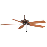 Fanimation Edgewood Indoor Ceiling Fan in Tortoise Shell with Walnut/Light Walnut Blades TF721TS