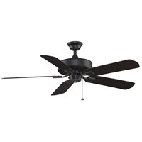 Fanimation Edgewood Outdoor Ceiling Fan in Black with Black Blades TF910BL photo thumbnail
