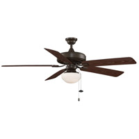 Fanimation Edgewood Outdoor Ceiling Fan in Oil-Rubbed Bronze with Dark Cherry Blades TF971OB alternative photo thumbnail