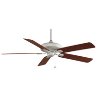 Fanimation Edgewood Outdoor Ceiling Fan in Satin Nickel with Mahogany Blades TF971SN