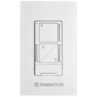 Fanimation WR502WH Controls White Wall Control with Receiver