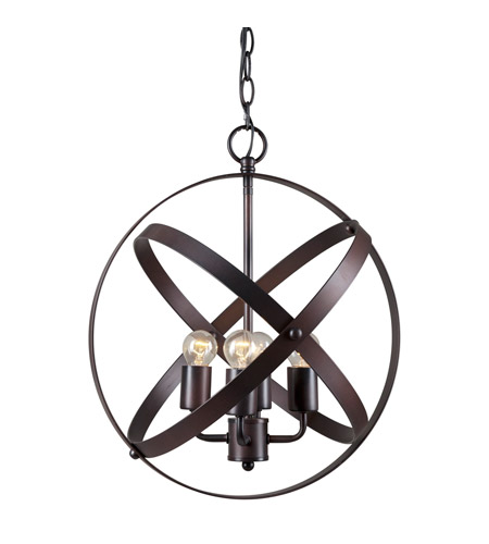 Forte Lighting Antique Bronze Pendants