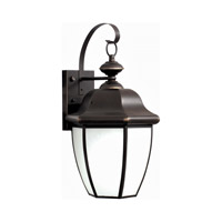 Forte Lighting 10004-01-14 Signature 1 Light 10 inch Royal Bronze Outdoor Lantern