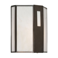 Forte Lighting 10039-01-14 Signature 1 Light 9 inch Royal Bronze Outdoor Wall Lantern