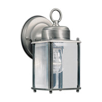 Signature 1 Light 8 inch Olde Nickel Outdoor Wall Light