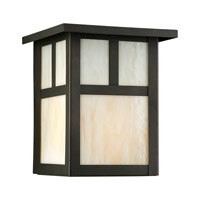 Forte Lighting 1069-01-14 Signature 1 Light 7 inch Royal Bronze Outdoor Wall Light