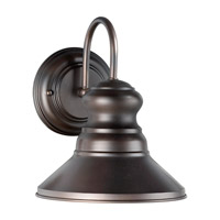 Signature 1 Light 10 inch Antique Bronze Outdoor Wall Light