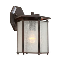 Forte Lighting 1130-01-32 Signature 1 Light 11 inch Antique Bronze Outdoor Wall Lantern