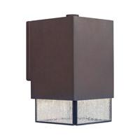 Forte Lighting 1132-01-32DS Signature 1 Light 8 inch Antique Bronze Outdoor Wall Light