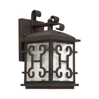 Forte Lighting 1135-01-32 Signature 1 Light 11 inch Antique Bronze Outdoor Wall Lantern