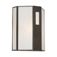 Forte Lighting 1138-01-14 Signature 1 Light 10 inch Royal Bronze Outdoor Wall Lantern