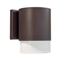 Forte Lighting 1153-01-32DS Signature 1 Light 8 inch Antique Bronze Outdoor Wall Light