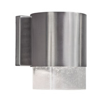 Signature 1 Light 8 inch Brushed Nickel Outdoor Wall Light