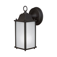 Signature 1 Light 11 inch Black Outdoor Wall Light