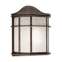 Forte Lighting 17006-01-32 Signature 1 Light 10 inch Antique Bronze Outdoor Wall Light
