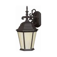 Forte Lighting 17015-01-04 Signature 1 Light 16 inch Black Outdoor Wall Lantern