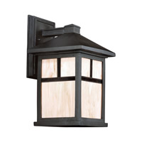 Signature 1 Light 14 inch Black Outdoor Wall Light