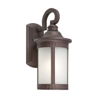 Signature 1 Light 16 inch Antique Bronze Outdoor Wall Light