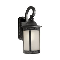 Forte Lighting 17022-01-64 Signature 1 Light 16 inch Bordeaux Outdoor Wall Light